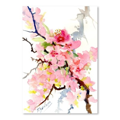 Cherry Blossom 3 Painting Print by Americanflat