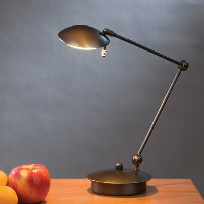 "Holtkötter Low Voltage 17.75"" H Table Lamp with Bowl Shade"