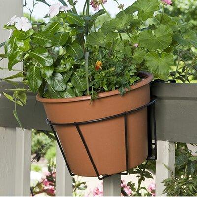 Round Rail planter by CobraCo