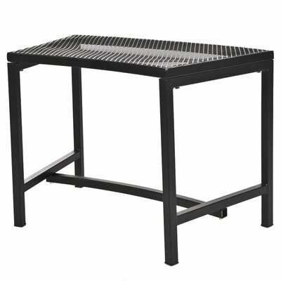 CobraCo Bravo Metal Mesh Fire Pit Bench