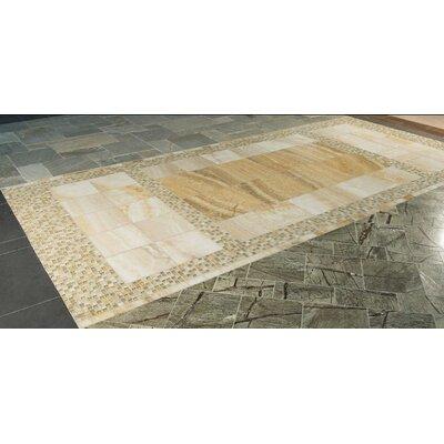 Giallo Crystal Random Sized Onyx Mosaic Tile In Gold Wayfair