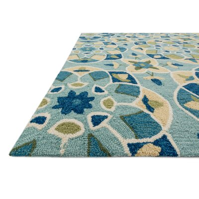 Francesca Turquoise/Sunset Rug by Loloi Rugs