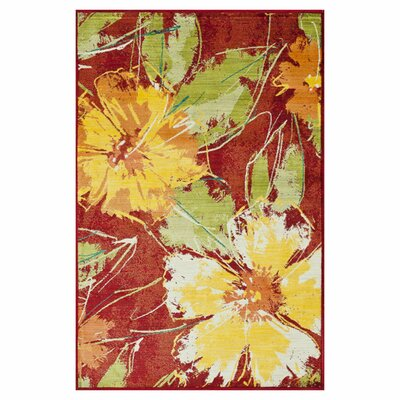Madeline Hibiscus Rug by Loloi Rugs