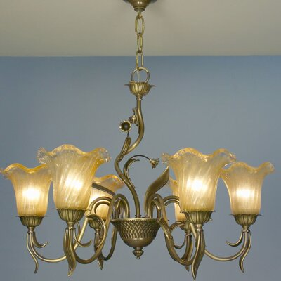 Venezia 6 Light Chandelier by Classic Lighting