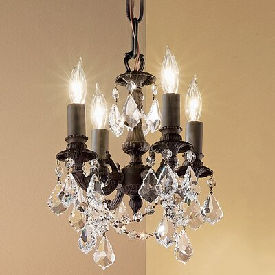 Classic Lighting Majestic Imperial 4 Light Mini-Chandelier