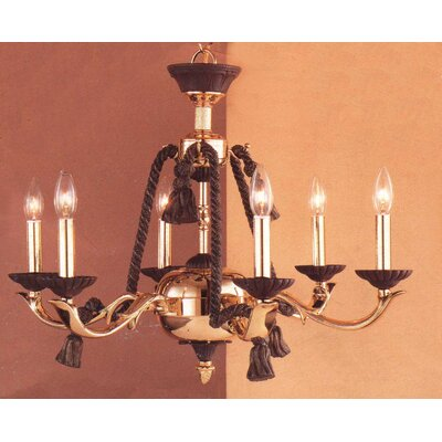 Orleans 6 Light Chandelier by Classic Lighting