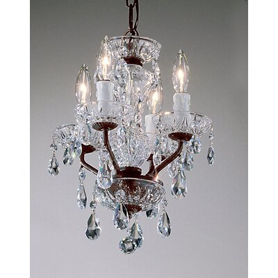 Daniele 4 Light Mini-Chandelier Product Photo