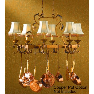 Asheville 6 Light Island-Billiard Light by Classic Lighting