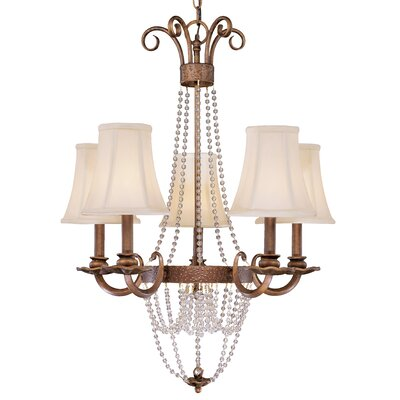 Grace 5 Light Chandelier by Classic Lighting