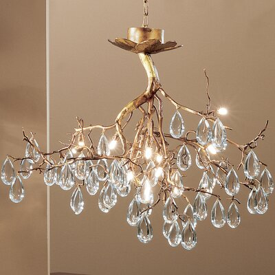 Morning Dew 12 Light Chandelier by Classic Lighting