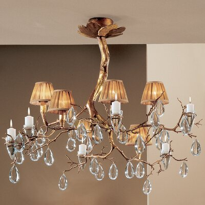 Morning Dew 6 Light Chandelier by Classic Lighting