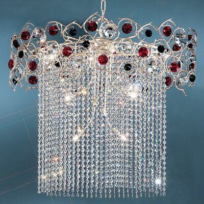 Classic Lighting Foresta Colorita 10 Light Chandelier