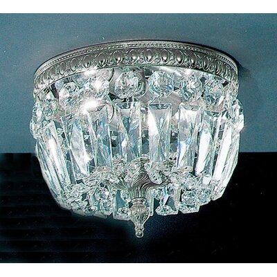 Crystal Baskets Light Semi-Flush Mount Product Photo