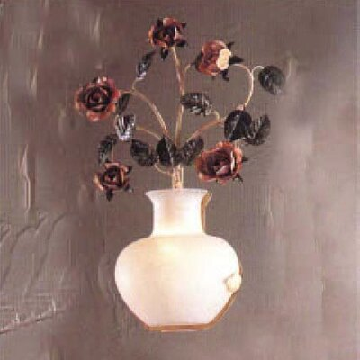 Classic Lighting Bouquet 1 Light Wall Sconce