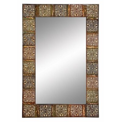 Embossed Frame Wall Mirror by Aspire