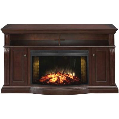 Muskoka TV Stand with Electric Fireplace by Greenway