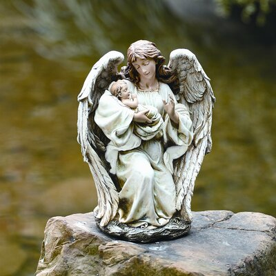 Angel with Baby Statue by Roman, Inc.