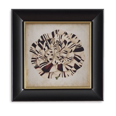 Pop Floral V Framed Graphic Art by Bassett Mirror