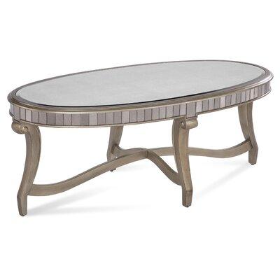 Mirror Coffee Table : Bassett Mirror Celine Coffee Table & Reviews  Wayfair