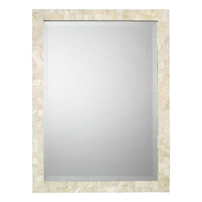 Jamie Young Company Rectangular Mother of Pearl Mirror