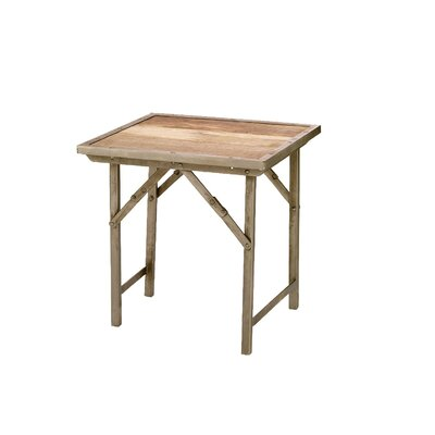 Jamie Young Company Campaign Folding End Table