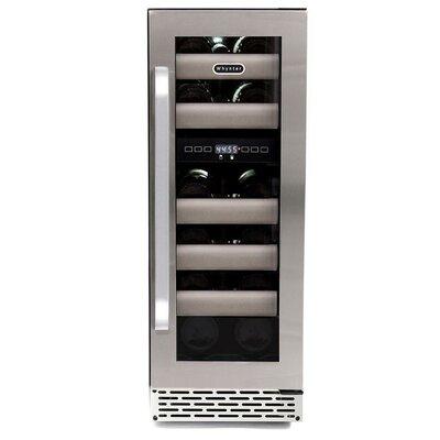 Elite 17 Bottle Dual Zone Built-In Wine Refrigerator by Whynter