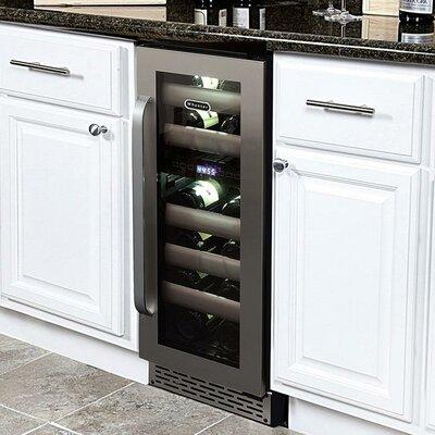 whynter elite 17 bottle dual zone built in wine refrigerator reviews wayfair. Black Bedroom Furniture Sets. Home Design Ideas