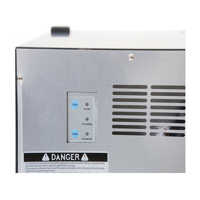 """Whynter 15"""" 50 lb. Built-In Clear Ice Maker"""