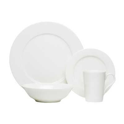 Pure Vanilla 16 Piece Dinnerware Set by Red Vanilla