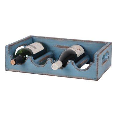 Wilco Home 4 Bottle Tabletop Wine Holder