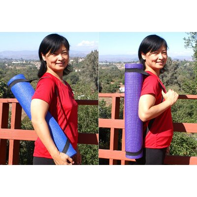 Isokinetics Exercise/Yoga Mat with Carrying Strap