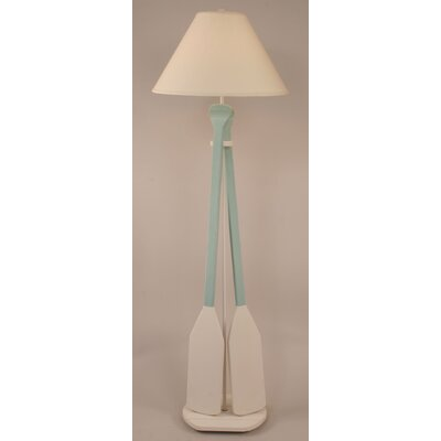 coast lamp mfg coastal living 2 paddle 62 floor lamp reviews. Black Bedroom Furniture Sets. Home Design Ideas