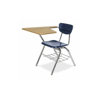 "Virco 3000 Series 18"" Plastic Tablet Arm Chair"