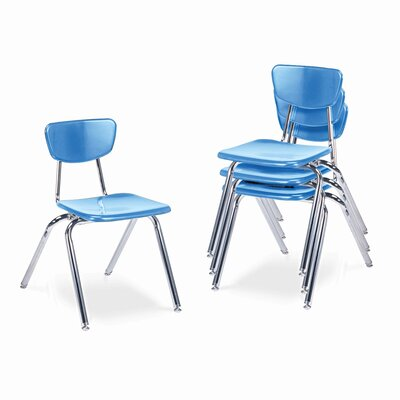 "Virco 3000 Series 16"" Plastic Classroom Chair"