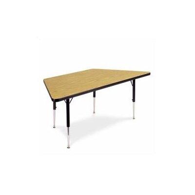 "Virco 4000 Series 60"" x 30"" Trapezoidal Classroom Table"
