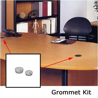 """Virco Grommet Kit with matching 2 3/4"""" Sleeves for Tables"""
