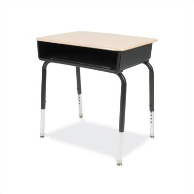 Virco 785 Series Laminate Adjustable Height Desk With