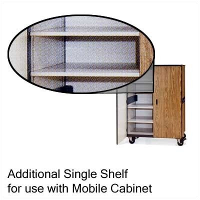 "Virco Steel Shelf for Mobile Cabinet (48"" x 24"")"