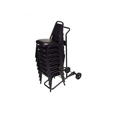 """Virco 60.75"""" x 20"""" x 38.88"""" HCT Series Universal Stack Chair Dolly"""