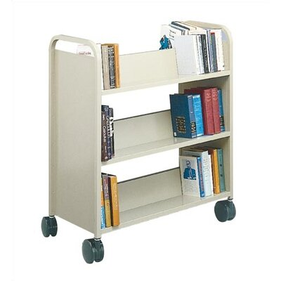 Virco Library Double-Sided Book Truck