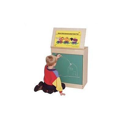 Virco Big Book Display and Storage Free-Standing Whiteboard, 3' x 2'