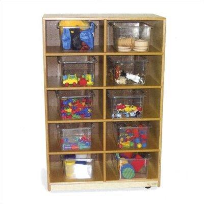 Virco Storage Unit 10 Compartment Cubby