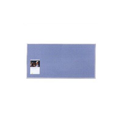 Virco Vinyl Wall Mounted Bulletin Board, 4' x 8'