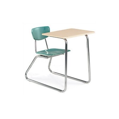 "Virco 3000 Series 30.38"" Laminate Combo Chair Desk"
