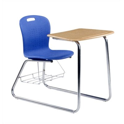 "Virco Sage Series 35"" Plastic Student Combo Chair Desk"