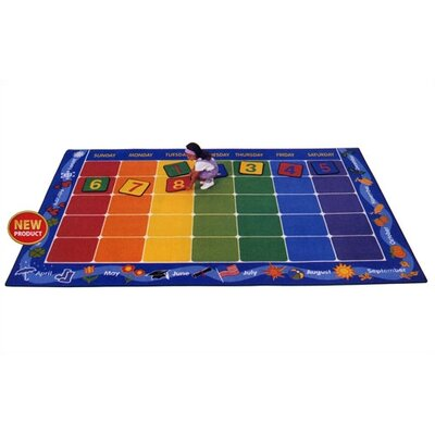 Virco Children's Calendar Area Rug