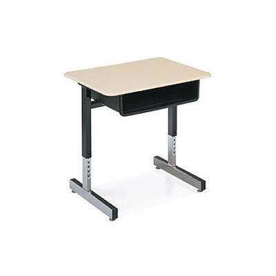 "Virco 30"" Laminate Open Front Student Desk"