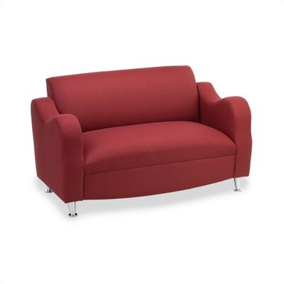 Virco Plush Reception Loveseat