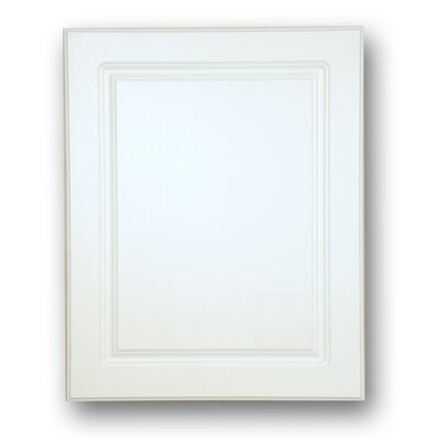 "Raised Panel 16"" x 26"" Recessed Medicine Cabinet Product Photo"