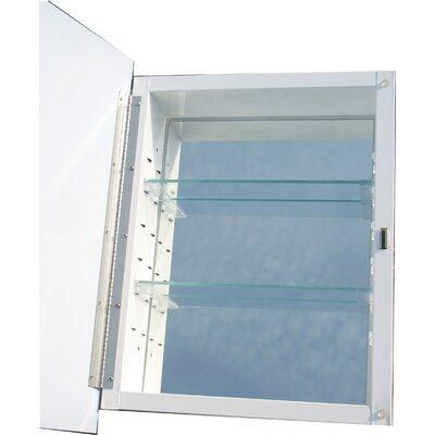 "Raised Panel 16"" x 20"" Recessed Medicine Cabinet Product Photo"